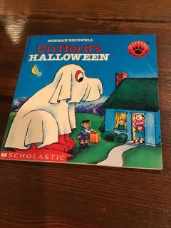 Clifford s Halloween small paperback - code rw