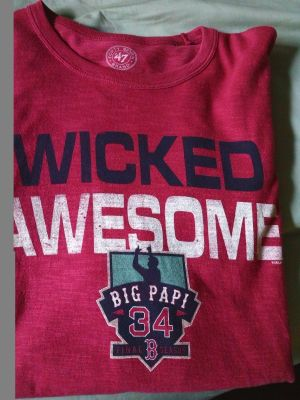 Men's 2XL red Sox t-shirt