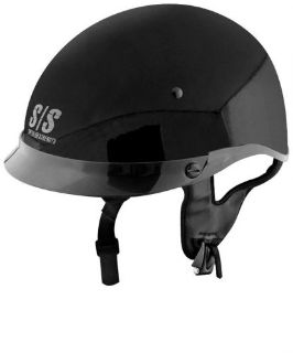 Sell Speed and Strength SS300 Half Helmet, Gloss Black size XL 877761 motorcycle in Spanish Fork, Utah, United States, for US $34.95