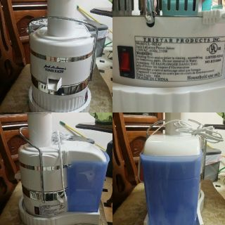 Jack Lalanne Power Juicer model CL -003AP with tool to remove blade