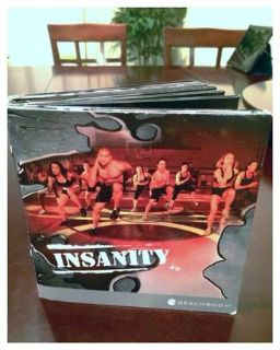Insanity official DVDs entire set