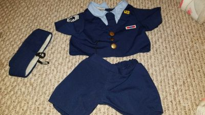 Build a Bear military outfit