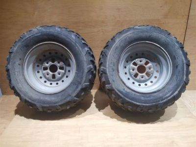 Sell KODIAK 400 REAR WHEELS RIMS TIRES motorcycle in Aurora, Illinois, United States, for US $38.09
