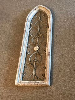 Distressed Wooden Window Frame
