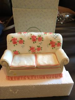 2 available cherished teddies couch