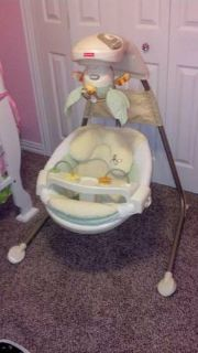 Perfect condition  baby swing