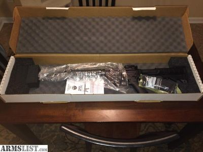 For Sale: New Ruger AR-556 - In Box - AR 556