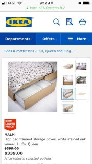 Full/double bed with Matress