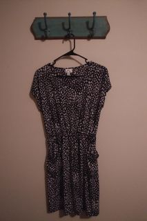 Small black and white dress OBO