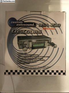 Custom Autosound Radio