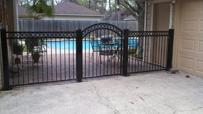 Wrough Iron Works and Wood Fencing