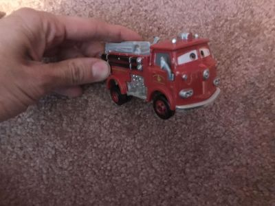 Big red from cars hot wheel