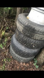 Good year used rims and tires 235/75R/15