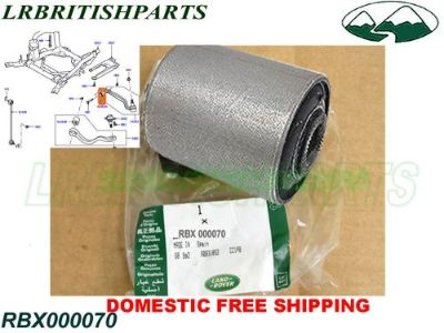 Purchase LAND ROVER FRONT LOWER SUSPENSION ARM BUSH RANGE ROVER 03-12 OEM NEW RBX000070 motorcycle in Miami, Florida, United States, for US $87.00