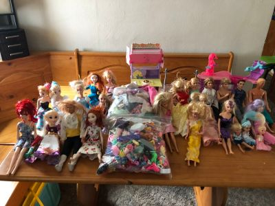 Huge Barbie Lot