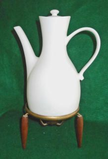 Hall Vintage Mid Century Modern Coffee Pot Atomic