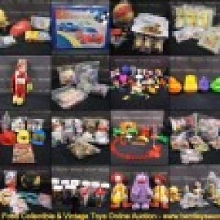 $1 Online Auction-Fast Food Collectible & Vintage Toy