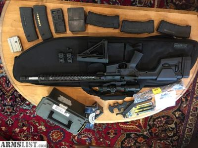 For Sale: Ruger/PSA AR-15, with extras.