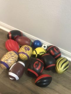 Footballs and Beads