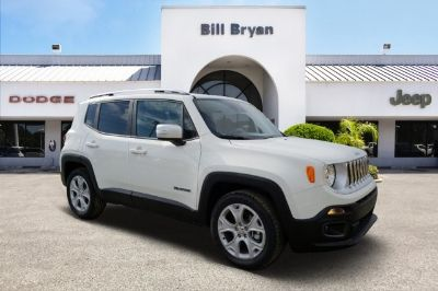 2018 Jeep Renegade Limited (Alpine White)