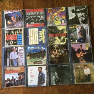 Lot of Country Music CDs $8 takes them all! Used