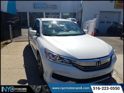 2016 Honda Accord LX (White)