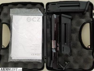 For Sale/Trade: CZ P-09 .22lr Kadet Kit