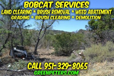 Low-Cost Land Clearing, Brush Clearing & Bobcat Services - Call Today