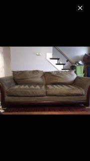 Couch, loveseat & chair- priced to sell