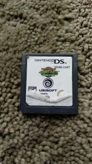 Nintendo DS game TMNT Arcade Attack. Works perfectly