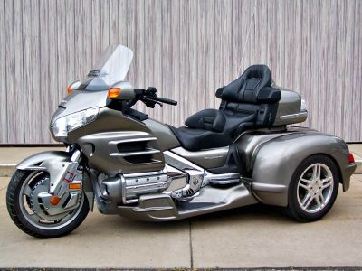 2008 Honda Gold Wing Navigation with Hannigan Trike 3 Wheel Motorcycle Erie, PA