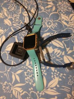 Fitbit Blaze w/ charger and extra band