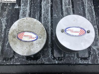 Accessory air cleaners for Porsche Zenith carbs