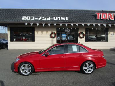2010 Mercedes-Benz C-Class C300 4MATIC Sport (Mars Red)