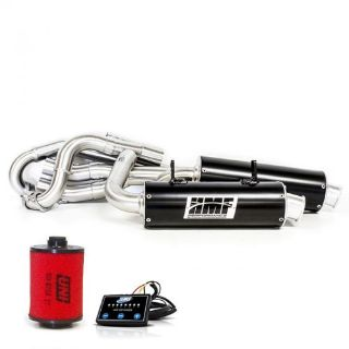 Buy HMF Can Am Renegade 800 2012 - 2014 Black Dual Full Exhaust Muffler, EFI UNI motorcycle in Berea, Ohio, United States, for US $1,041.10