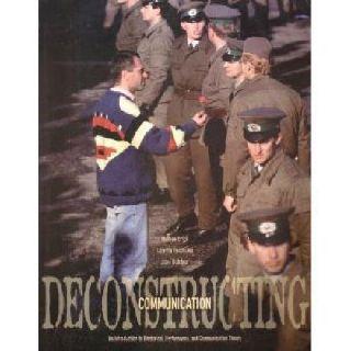 $30 OBO Deconstructing Communication Textbook - LIKE NEW