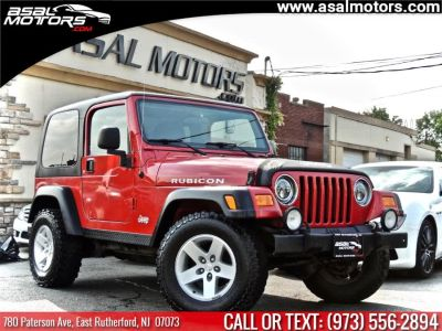 2004 Jeep Wrangler Rubicon (Flame Red)