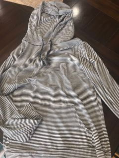 Old navy long sleeve shirt with hood