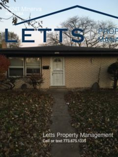 Awesome 3Bd/1Ba Home Available in Dolton!