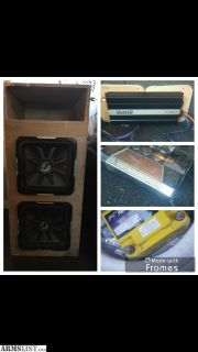 For Sale/Trade: Car audio for sale or trade