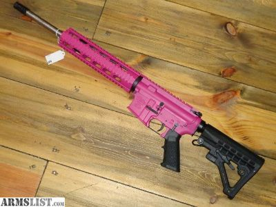 For Sale: Anderson mfg AR-15 5.56mm Custom Pink