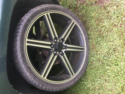 TRADE 26 rims and tires