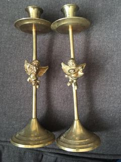 Angel Candle stick holders
