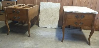 Matching Queen Anne Side Tables