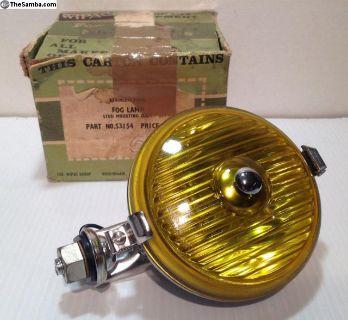 """WIPAC 5"""" Fog Lamp Fog Light w/Amber Lense"""