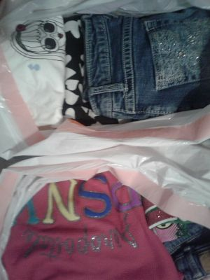 2 bags of girls clothes size 10/12- 14/16
