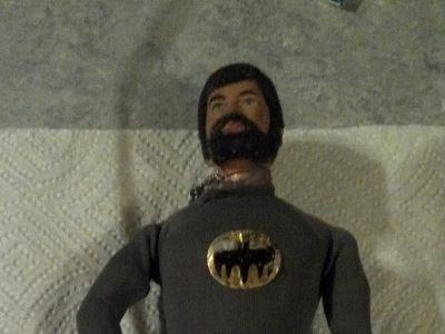 "12"" G.I. Joe 1970s w/1966 BATMAN suit"