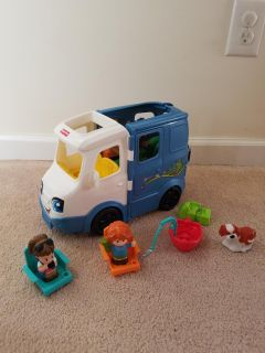 Little People Camper set. Another pic in comments. MEET AT GRIFFIN WALMART