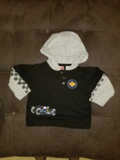 24 month hooded top