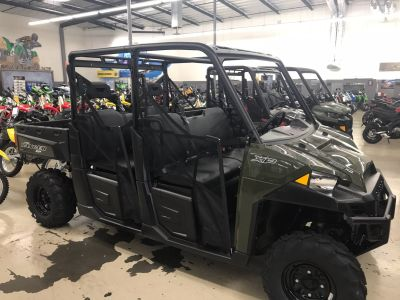 2018 Polaris Ranger Crew XP 900 Side x Side Utility Vehicles Corona, CA